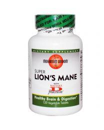 Grifron Maitake, Mushroom Wisdom, Super Lion's Mane, 120 Veggie Tabs