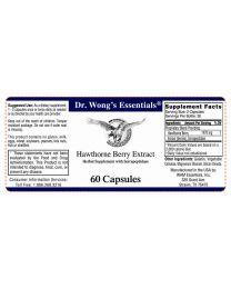 Hawthorne Berry Extract 60 Caps (WAM Essentials)