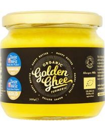 Happy Butter - Organic Golden Turmeric Ghee Cultured 300g Jar