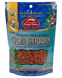 Dragon Herbs Heaven Mountain Goji Berries 227g