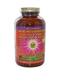 HealthForce Nutritionals, Acai Resveratrol, Ultimate ORAC, Antioxidant Extreme, Version 8, 360 VeganCaps