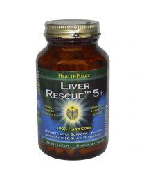 HealthForce Nutritionals, Liver Rescue 5.1+, 120 Vegan Caps