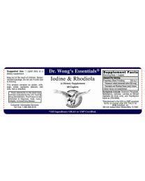 Iodine & Rhodiola 60 Caplets (WAM Essentials)