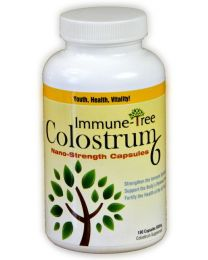 Wholefood Colostrum Capsules 180 count - 500 mg capsules (Immune Tree)