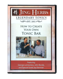 Jing Herbs - How to Create Your Own Tonic Bar DVD
