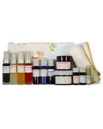 Living Libations - Royal Nature Beauty Bundle - Home Spa Kit