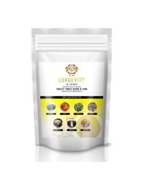 Longevity Instant Tea Blend - 10:1 Extract containing 7 x Medicinal Mushrooms 100g (lion heart herbs)