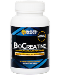 BioCreatine™ Optimal Creatine Complex - 120 ct. (Natural Stacks)
