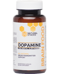 Dopamine Brain Food™ - 60 Capsules (Natural Stacks)