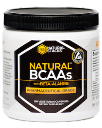 Natural BCAAs™ with Beta-Alanine - 120 ct. (Natural Stacks)