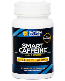 Smart Caffeine® 60 Capsules (Natural Stacks)