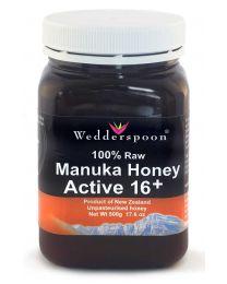 100% Raw Manuka KFactor 16+ Honey 500g (NZ)
