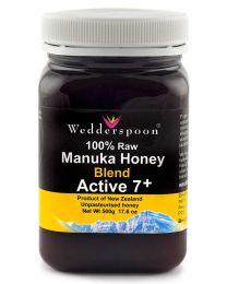Natural Raw Manuka Honey Blend KFactor 7+ 500g (NZ)