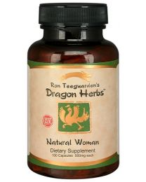 Dragon Herbs Natural Woman - Bupleurum & Peony 100 Capsules (500mg)
