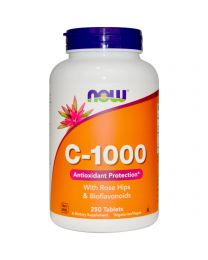 Now Foods, Vitamin C-1000, 250 Tablets