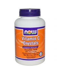 Now Foods, Vitamin C Crystals, Powder, 8 oz (227 g)