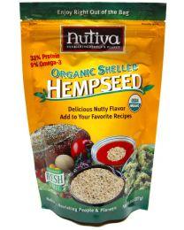 227g Nutiva Shelled Hemp Seeds