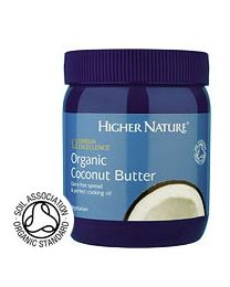 Higher Nature Omega Excellence Organic Coconut Butter (coconut oil) - 400g Spread