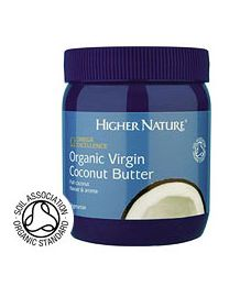 Higher Nature Omega Excellence Organic Virgin Coconut Butter (coconut oil) - 400g Spread