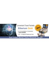 Harmonic Innerprizes - Etherium Gold (The Enlightener) 50ct.Travel Packets (3caps per pack)