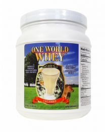2018 Formula - One World Whey (1lb) - Unflavoured and Unsweetened