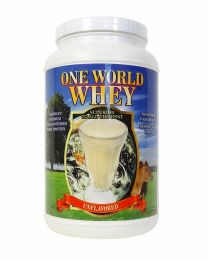 2018 Formula - One World Whey (3lbs) - Unflavoured and Unsweetened