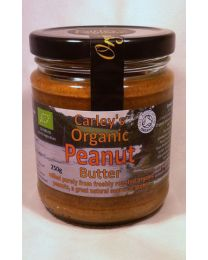 Carley's Organic Peanut Butter 250g