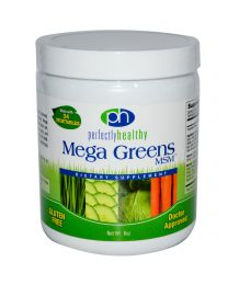 Perfectly Healthy, Mega Greens MSM Powder, 8 oz