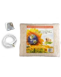 Earthing Plush Pad (mini blanket) with UK connection