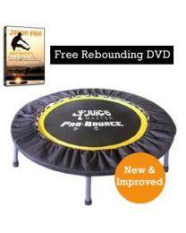Juice Master Pro Bounce Rebounder (45 inch) & Free Rebounding DVD