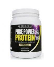 Dr Mercola Pure Power Protein Vanilla - 909g
