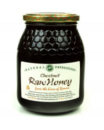 Chestnut Honey 500g (Raw, Organic) From The Hives of Anthonio
