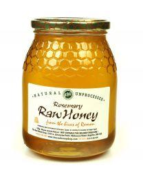 Rosemary Honey 1kg (Raw, Organic) From The Hives of Alvaro