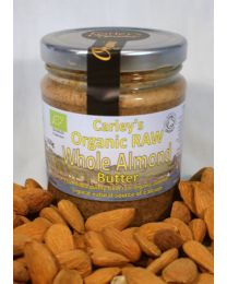 Carley's Organic Raw Whole Almond Butter 425g