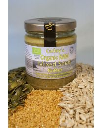 Carley's Organic Raw Premium Mixed Seed Butter 250g