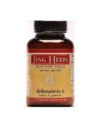 Jing Herbs Rehmannia 6 (90caps 450mg)