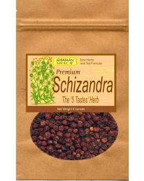 Shaman Shack Premium Schizandra berries (whole) 4 oz. bag