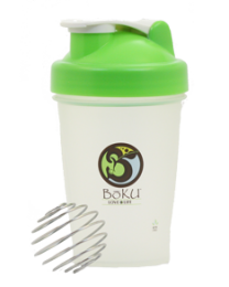 BoKU® Shaker Bottle  (BPA FREE)