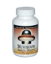 Source Naturals, Mushroom Immune Defense, 16-Mushroom Complex, 60 Tablets