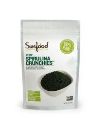 Sunfood Spirulina Crunchies, 4oz