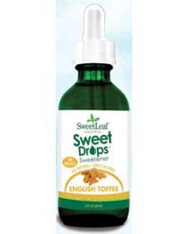 SweetLeaf Liquid Stevia Sweet Drops - English Toffee