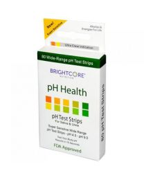 pH Test Strips for Saliva & Urine, 80 Strips