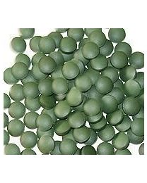 Thor's Hammer, cold-pressed tablets, Raw Power (1000 count, 250g, pure chlorella/pure spirulina)