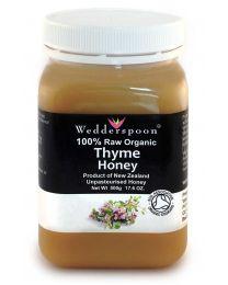 Certified Organic Thyme Honey 500g (NZ)