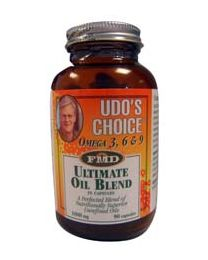 Udo's Choice 1000mg - Ultimate Oil Blend 90 capsules