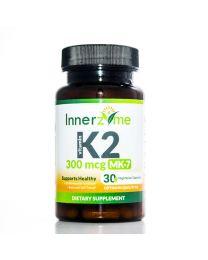 Innerzyme Vitamin K2 MK-7 (350mg - 30caps)