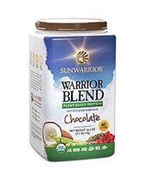 1kg Warrior Blend Chocolate (Sunwarrior protein blend)