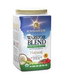 1kg Warrior Blend Natural (Sunwarrior protein blend)