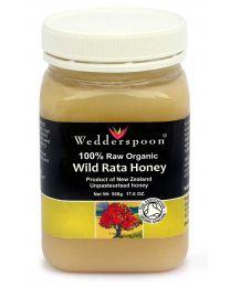 Certified Organic Rata Honey 500g (NZ)