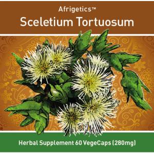 Afrigetics Sceletium Tortuosum (60 vegecaps 280mg)